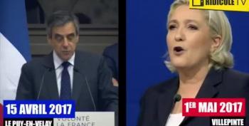 Marine Le Pen Accused Of Plagiarising Speech