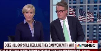 Joe And Mika Send A Message About Trump's Mental State
