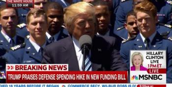 Trump: Downpayment On Border Wall Included In Budget (It's Not)