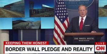 CNN Exposes Trump Administration's Phony 'Border Wall'