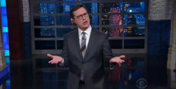 Colbert Does Not Regret His Trump Insults