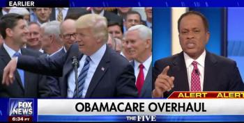 After Juan Williams Calls Trumpcare  'A Fraud,' Fox News Panel Freaks