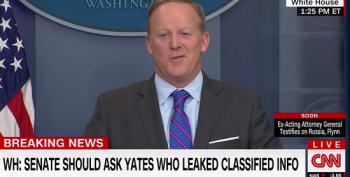 Sean Spicer On Trump's Sally Yates Tweet: 'Speaks For Itself'