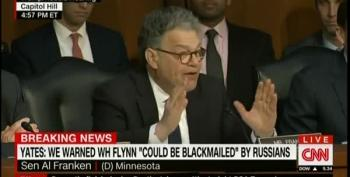 Al Franken Suggests Flynn Is Just The Tip Of The Trump-Russia Iceberg