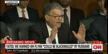 Al Franken Suggests Flynn Was Just The Tip Of The Iceberg
