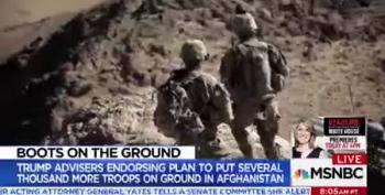 More Troops In Afghanistan?