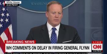 Sean Spicer Calls Yates Meeting With WH Counsel On Gen.Flynn: 'A Heads Up'