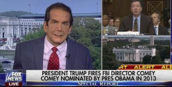 Krauthammer: It's Like Trump 'Perp Walked Comey Out Of The FBI Building In Handcuffs'