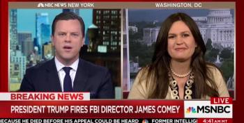 Morning Joe Crew Tells Sarah Huckabee-Sanders She's Lying