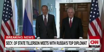 Top Russian Diplomat To DC Press:  'He Was Fired? You're Kidding!'