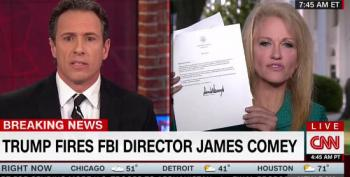 CNN's Cuomo Battles With Conway Over Her 'Talking Points' On Comey Firing