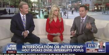 Fox And Friends Furious Lester Holt Interrupted Trump During NBC Interview