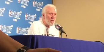 Gregg Popovich: 'There's A Dark Cloud, A Pall Over The Whole Country' Since Donald Trump's Election