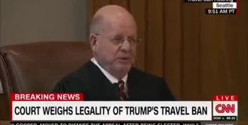 Uh Oh. Muslim Ban Judges Asking Obvious Tough Questions