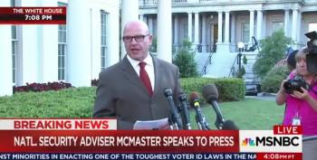 H.R. McMaster's Carefully Worded Statement Denying Trump Leaked Classified Intelligence