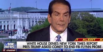 Charles Krauthammer: Defending Trump Gets 'Your Limbs Sawed Off'