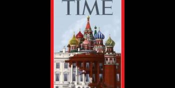 Time Magazine Shows White House Morphing Into Kremlin