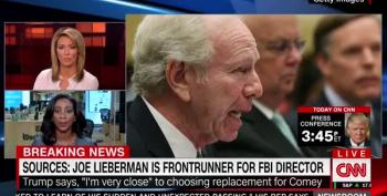CNN: Joe Lieberman Is 'Done Deal' For Next FBI Director