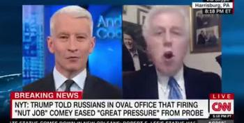 Anderson Cooper To Jeffrey Lord: 'If Donald Trump Took A Dump On His Desk, You'd Defend Him'