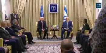 Israeli Ambassador Remembers Not To Facepalm When Trump Speaks