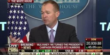 Mulvaney 'Hopes' Fewer People Get Social Security Disability Benefits