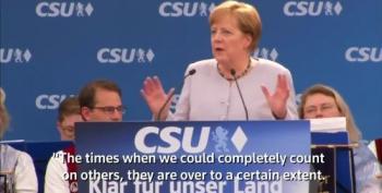 Angela Merkel Warns Germany That U.S., Great Britain Are Untrustworthy