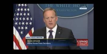 Sean Spicer Doesn't Even Last A Scaramucci As WH Reporter