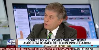 Judge Napolitano: Comey Hearing Is Going To Produce 'Fireworks' Bad For Trump