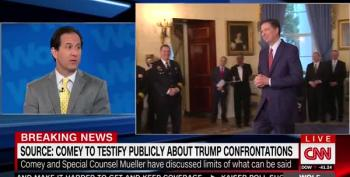 CNN Reports: James Comey Cleared To Testify  About Trump Confrontations