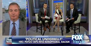 Fox Brings On Nigel Farage To Bash Clinton: Ignores That He's 'Person Of Interest' In Russiagate