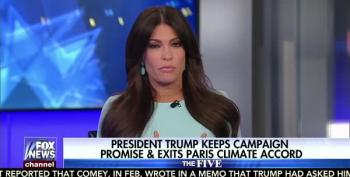 Trump Got Advice From Fox's Kimberly Guilfoyle Before Withdrawing From Paris Accord