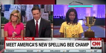 CNN's New Day Challenges Spelling Champ To Spell 'Covfefe'