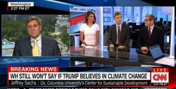 Jeffrey Sachs Calls Out Trump Shill Stephen Moore For His Ties To The Koch Brothers