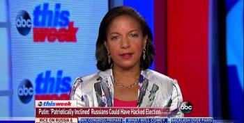 Susan Rice On Putin's Denials Of Russian Interference In Our Elections: 'Frankly, He's Lying'