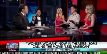 Fox's Cavuto And Pals Attack Wonder Woman For Not Wearing Red, White And Blue