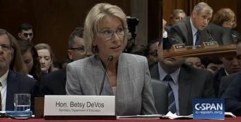 In Heated Session, Betsy DeVos Refuses To Answer On LGBTQ Discrimination