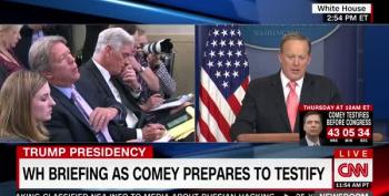 WATCH: Sean Spicer Refuses To Stand Up For AG Jeff Sessions
