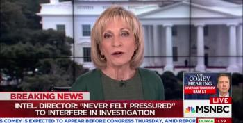 Andrea Mitchell: [Trump's] 'Top Intelligence Officials Are Stonewalling' Senate Hearing