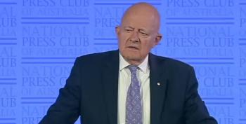 James Clapper Tells Audience Watergate Pales In Comparison To Current Crisis
