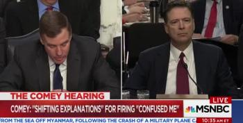 Comey Testifies He Kept Notes Because He Was Concerned Trump Might Lie