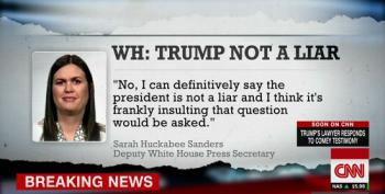 Lying Liar Huckabee Sanders Joins Lying Liars At Fox News