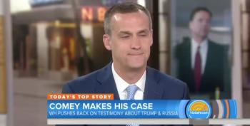 Corey Lewandowski Does His Best To Smear Comey