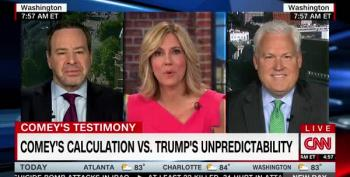 David Frum Battles Trump Surrogate Matt Schlap Over Comey Testimony