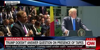 Trump Gets Huffy With ABC's Jonathan Karl Over Loyalty Oath Question (UPDATED)
