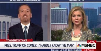 Chuck Todd Scolds Marsha Blackburn Over Russia: 'Where Is The Urgency?'