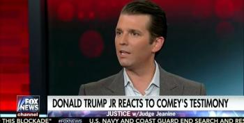 Trump Jr. Confirms Comey's Account Of Flynn Meeting
