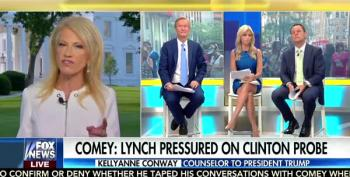 Kellyanne Conway Tells Fox News That's She's Not A Leaker