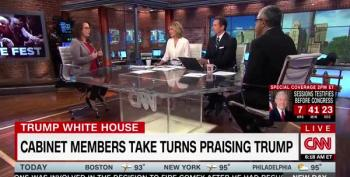 CNN Panel Says Trump's Monday Cabinet Meeting 'Was Surreal'
