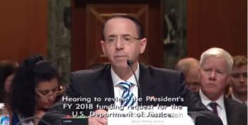 Deputy AG Rosenstein Has Seen 'No Good Evidence To Fire Mueller'