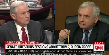 Sen. Reed Blows Holes Through Sessions' Excuses For Comey Firing